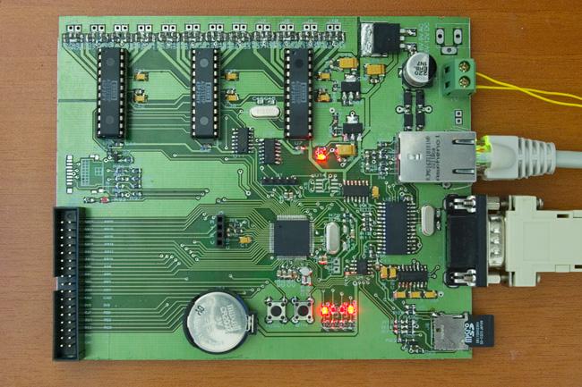 24 bit daq board pcb