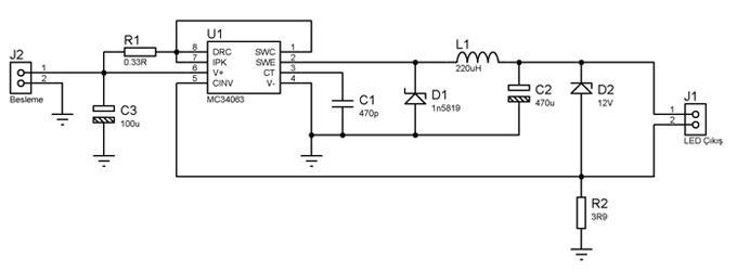power led driver - surucu