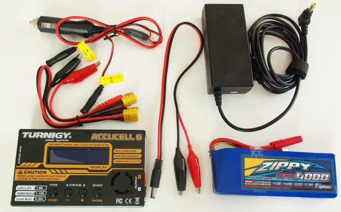 quadrotor lipo battery