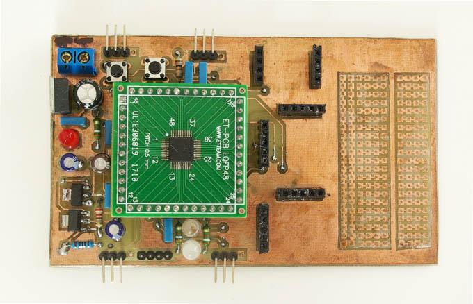 quadrotor lpc2103 microcontroller