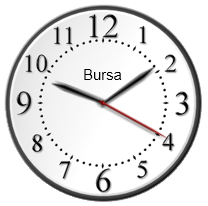 silverlight clock saat